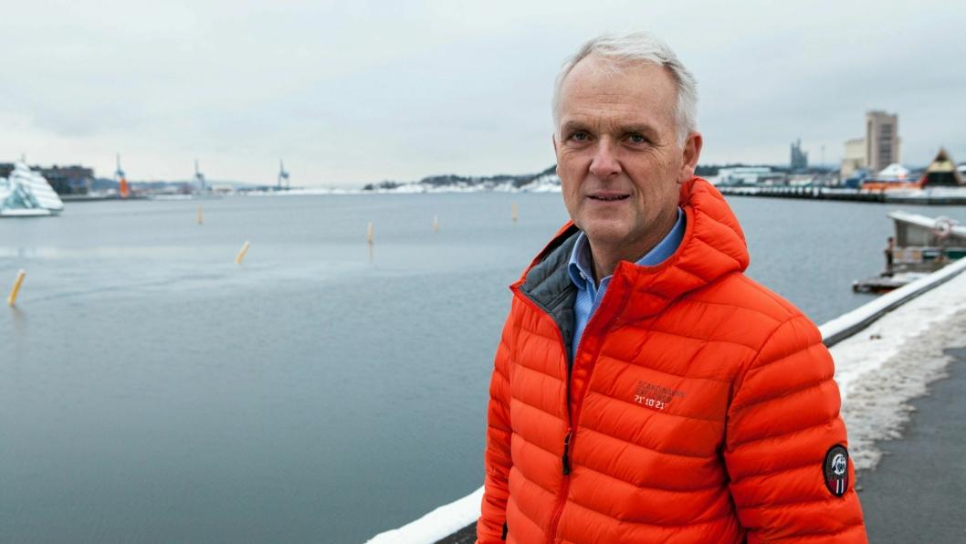 LANG ERFARING: Christian J. Lien jobber tildaglig med forsikring, men har jobbet medIncoterms siden 1992.