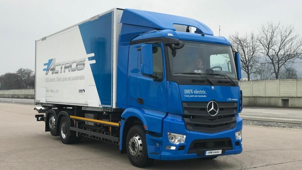 Nye Mercedes-Benz eActros.