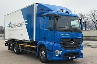 Ny elektrisk Mercedes-Benz