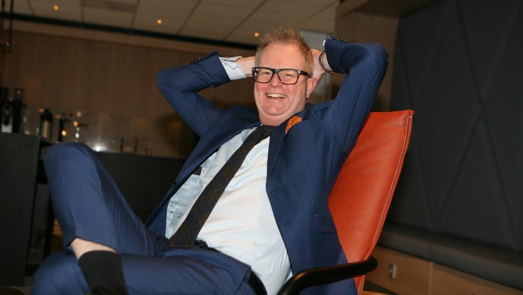 Bjarne Ivar Wist fikk seg en solid tankevekker etter 20 års erfaring med godstransport på skinner. Nå foretrekker han sjøveien. Foto: Per Dagfinn Wolden