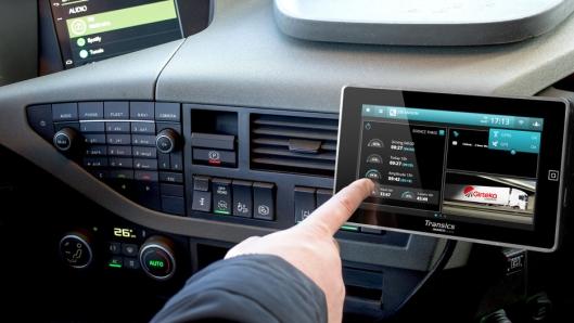 Det nye systemet skal blant annet kunne gi informasjon om sjåføren er i førerhuset eller ikke.