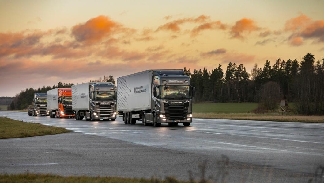 Scania konvoi