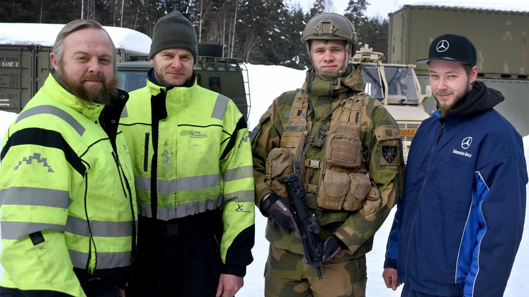 Forsvaret inngår beredskapsavtale med Bertel O. Steen.
