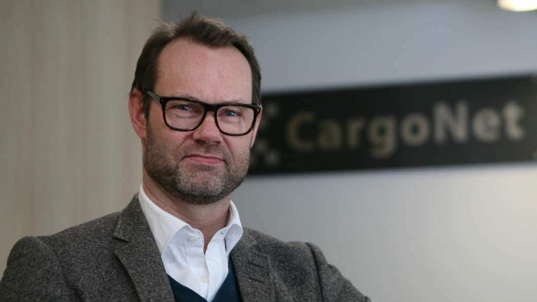 Adm. direktør Erik Røhne i CargoNet har iverksatt strakstiltak med NSB-styrets fulle støtte. Foto: Per Dagfinn Wolden