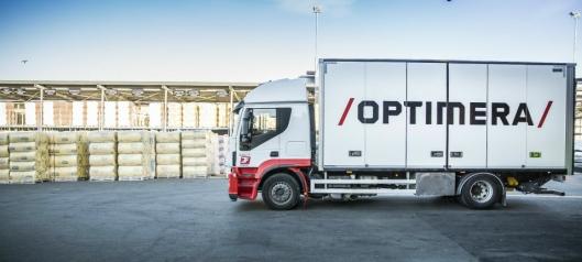 Optimera kjøper hvert år transport for rundt en kvart milliard kroner.