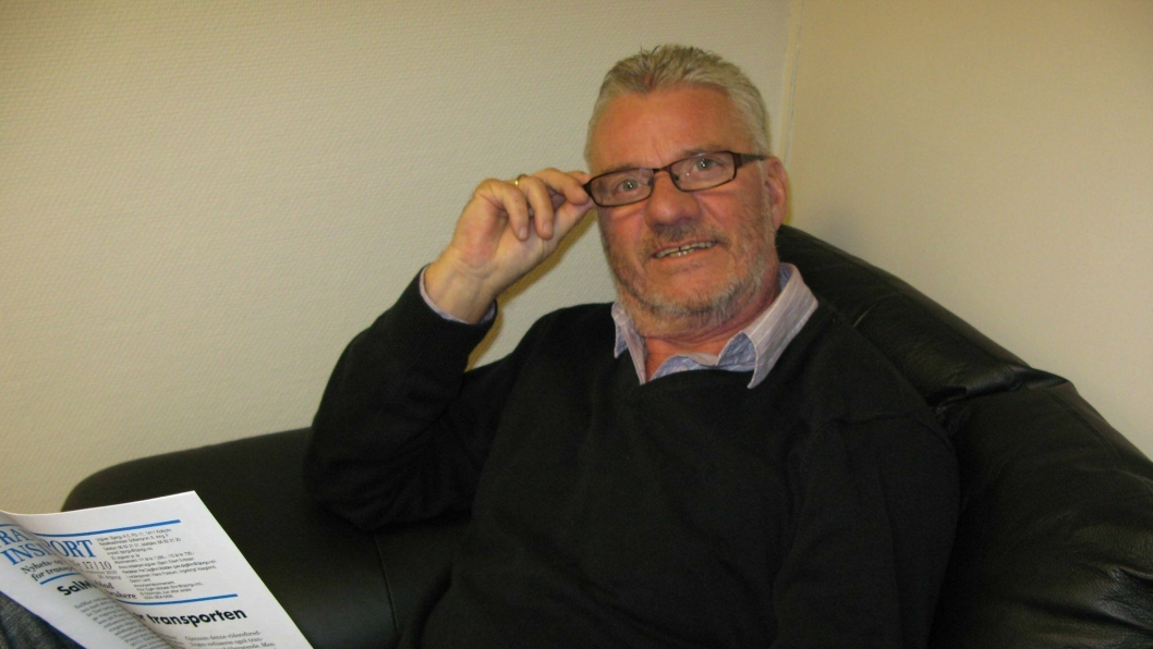 - Det er lov å feire seg selv etter 27 år i transportens tjeneste, sier redaktør Per Dagfinn Wolden i Transport Inside.