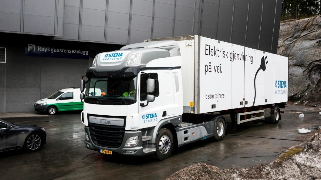 Strekningen Oslo-Moss og dette spesifikke oppdraget er meget velegnet til el-lastebiler. Avstanden er passende og bilene kan lades i 20 minutter ved hvert stopp.