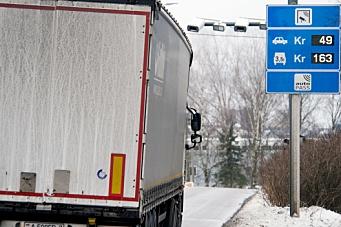 Varetransporten må også betale