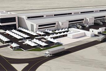 Bygger logistikk-gigant i Dubai