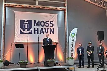 Åpnet Norges første innlandshavn