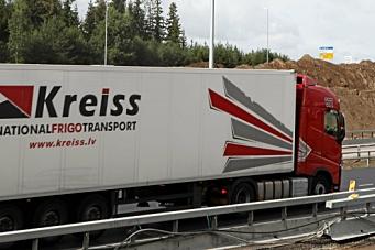 NLF: - Kreiss-sjåfører har 370 euro i grunnlønn