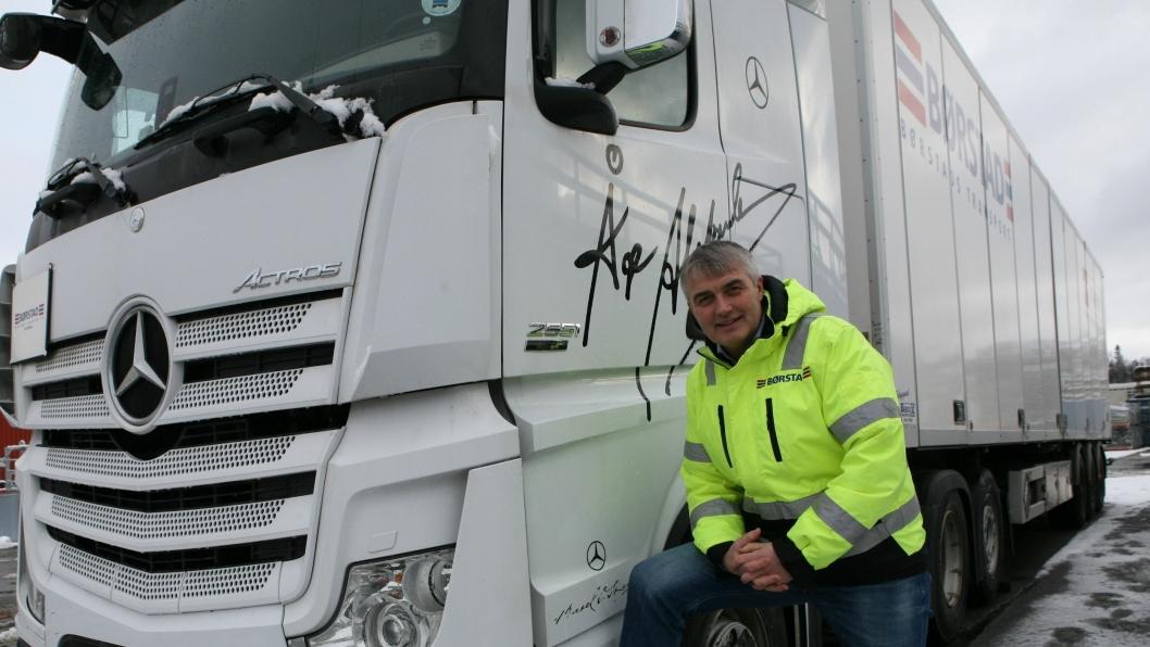 Tor Jakob Reitan skifter beite fra Børstad Transport til Onyx Eiendom AS. Foto: Per Dagfinn Wolden