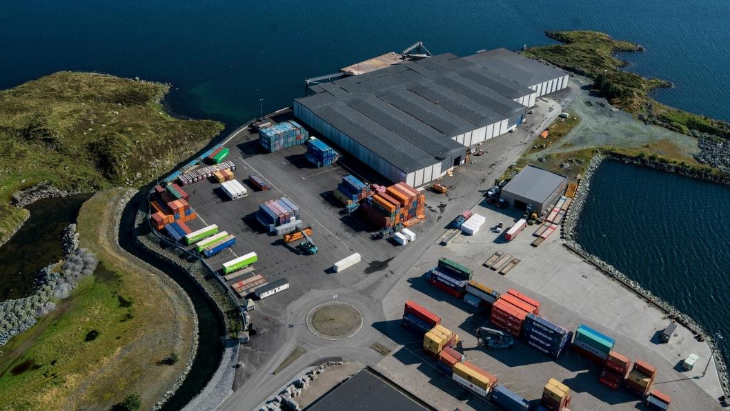 Karmsund Havn har opplevd stor vekst i containertrafikken de siste årene.