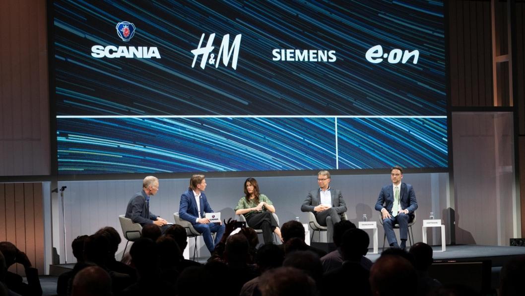 Scania, H&M Group, Siemens og E.ON har offentliggjort at de går sammen i en koalisjon for å fremskynde overgangen til fossilfri tungtransport.