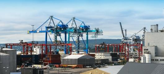 Flere Europa-varer sjøveien til Oslo