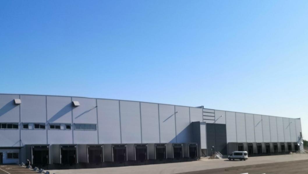 Selskapets nye logistikksenter i Vestby er et resultat av samlokalisering av kontorene i Moss og Vestby