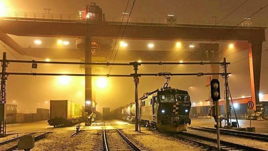 Norges største godsterminal trenger ny signalstrategi.