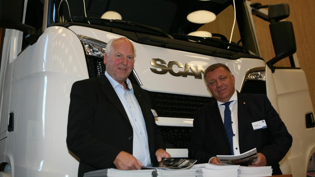 Forbundsleder Tore Velten og adm. direktør Geir A. Mo har stor tillit i NLF-«menigheten». Foto: Per Dagfinn Wolden