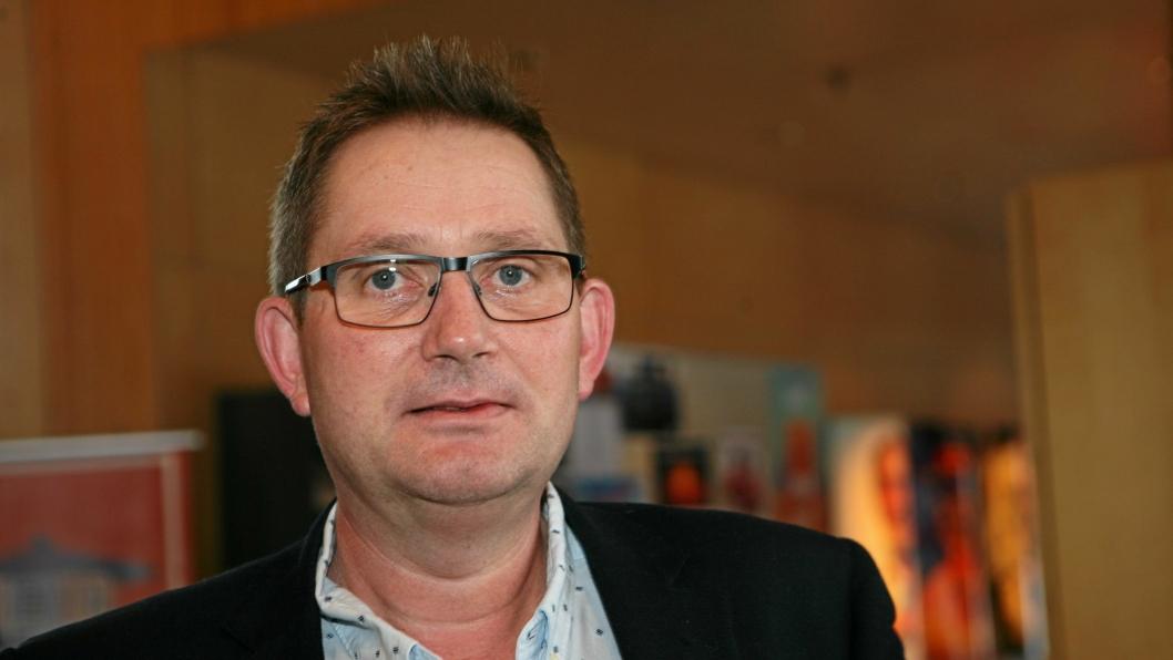 Leif Jarle Christensen i DSV Road har overtatt ledelsen i NHO LT Trøndelag. Foto: Per Dagfinn Wolden
