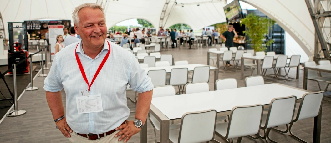 LOVER MER: Det kommer enda mer nyheter fra Linde de neste to årene, forteller salgsdirektør i Hesselberg Truck, Per Erik Pedersen.