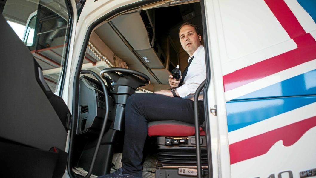 NÅ SKAL DET BLÅSES: - Sikkerhet er vesentlig for oss, både for våre ansatte og gjennom at folk flest opplever oss som trygge, sier administrerende direktør Vladas Stoncius i Vlantana Norge.