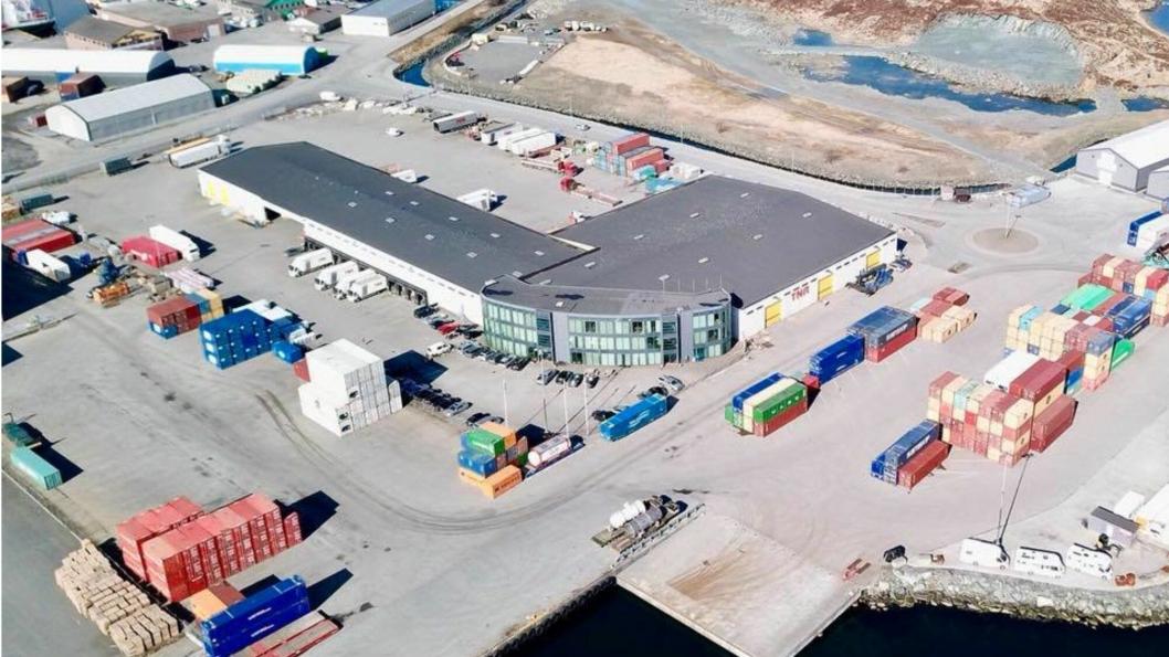 Haugesund Cargo Terminals Foto: Karmsund Havn