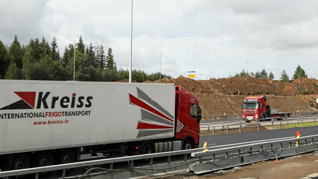 Det latviske transportselskapet Kreiss har i det siste vært i hardt være grunnet ulovlige transporter i Norge.