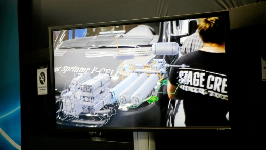 Her ser vi en virituel visning av hvordan de ulike enhetene er plassert i bilen.