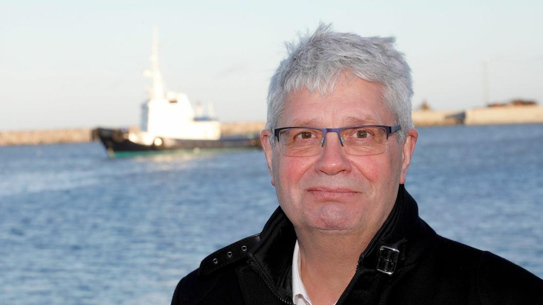 Styreleder Anker Laden-Andersen i Hirtshals Havn setter dagsorden for å knytte Norge og det europeiske kontinent sammen.