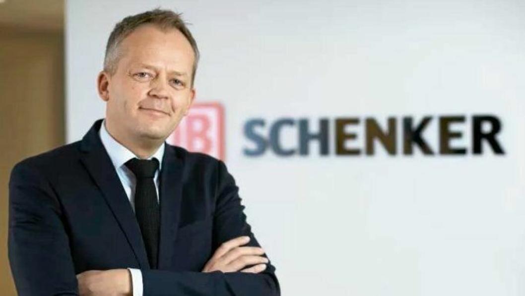 Knut Eriksmoen, CEO i Schenker AS.