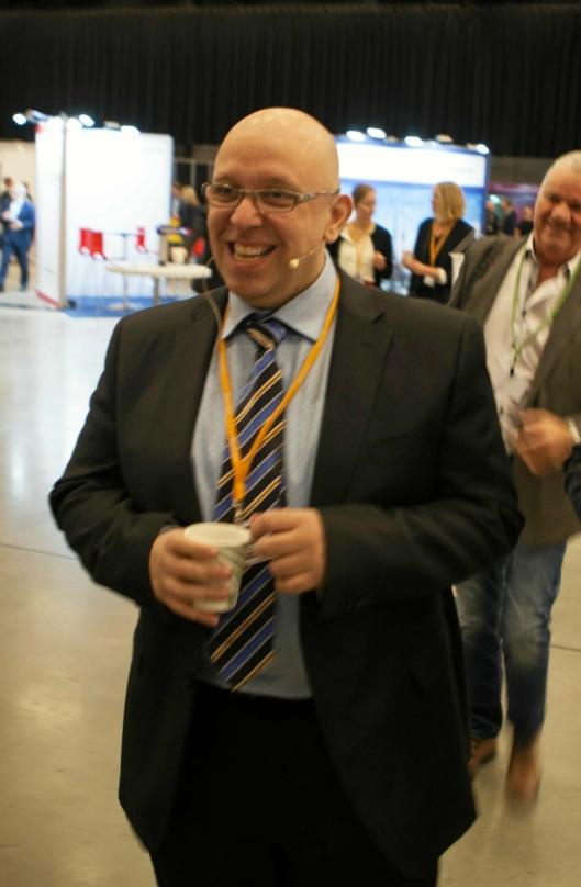 Konferansegeneral Jo Eirik Frøise er i full sving med forberedelsene.
