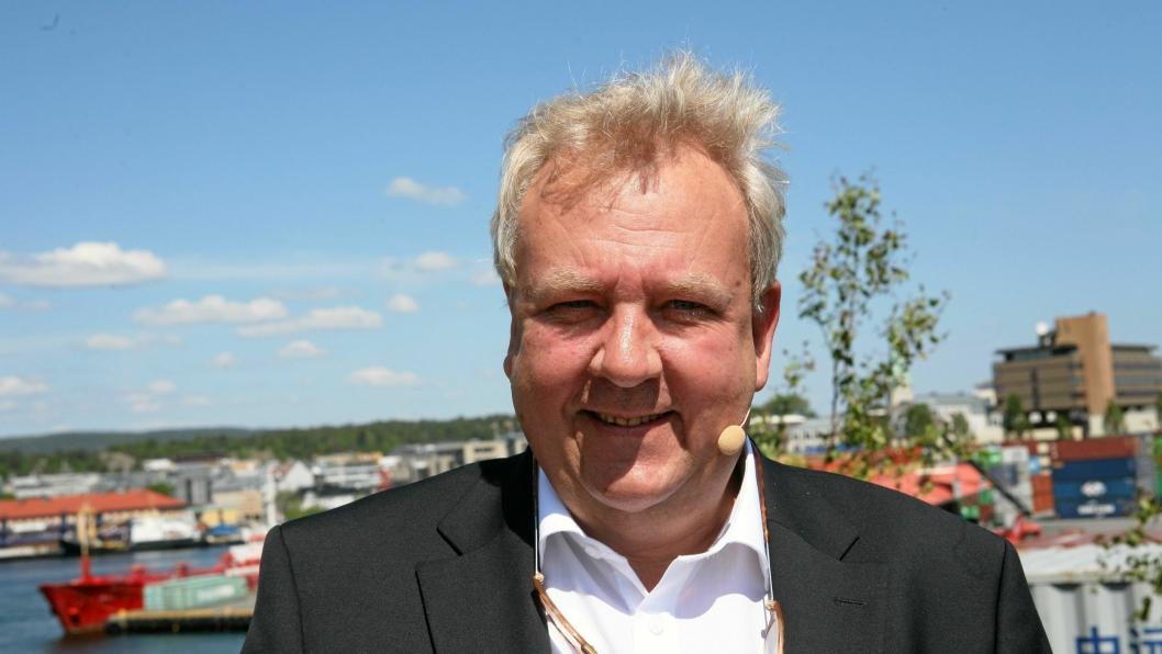 Ass. havnesjef ved Kristiansand Havn, Thomas Granfeldt, blir Senior Vice President for Global Ocean Technology. Foto: Per Dagfinn Wolden