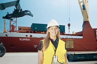 Oppruster containerflåten