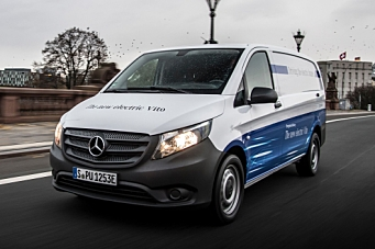 Salgsstart for Mercedes-Benz eVito