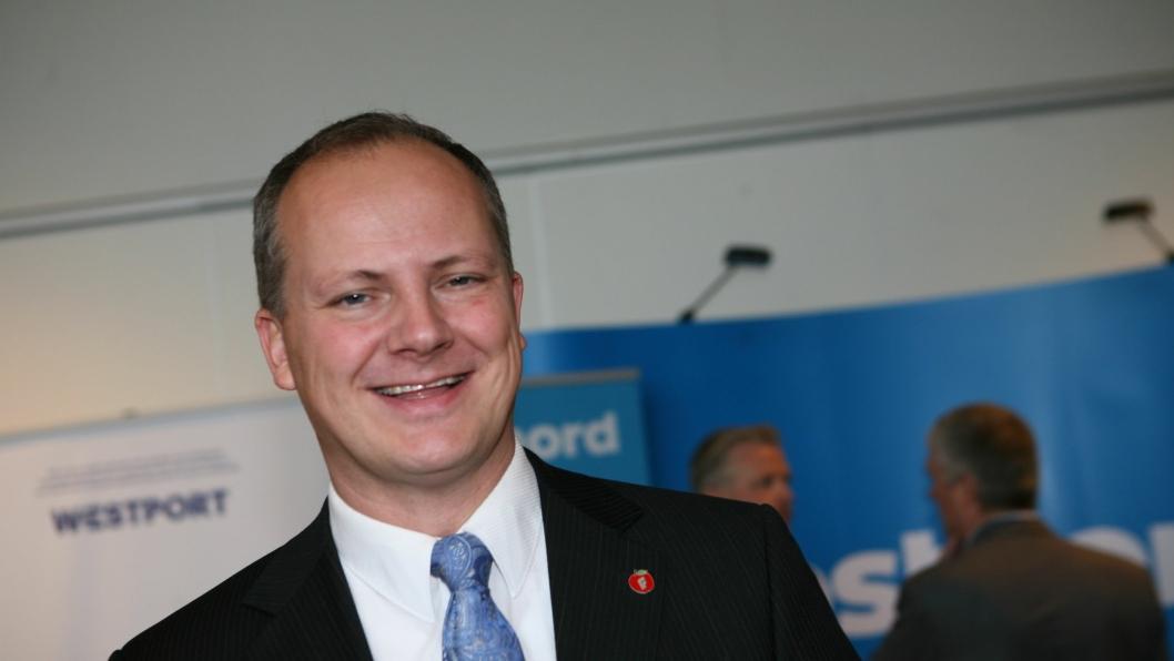 Ketil Solvik-Olsen går av som samferdselsminister. Foto: Per Dagfinn Wolden