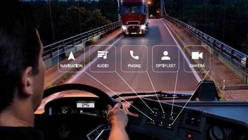 Renault Trucks utstyrer nå sine T, C og K-kjøretøy med et nytt lyd-, navigasjons- og underholdningssystem ved navn Roadpad.