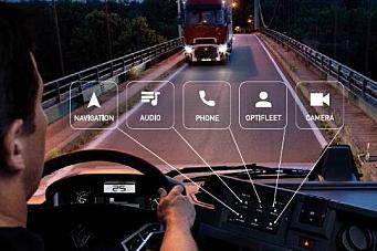 Ny multimediepakke i Renault-lastebiler