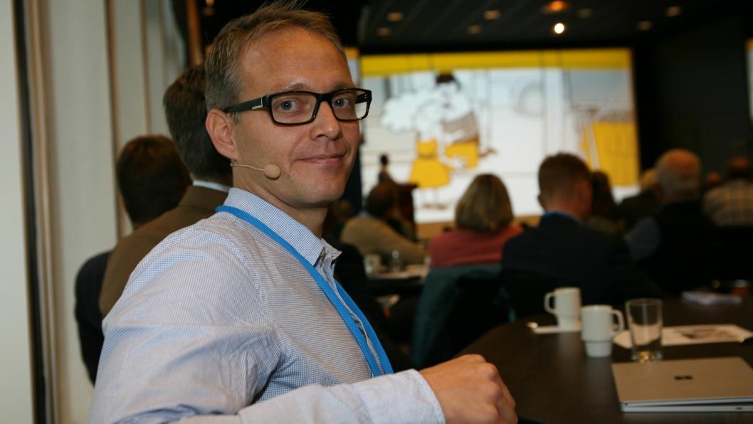 Nåværende daglig leder Vidar Fagerheim i Shiplog skal lede det nye selskapet. Foto: Per Dagfinn Wolden