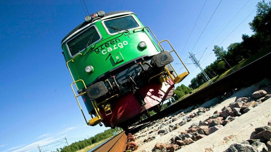 Svenske Green Cargo skal transportere norsk laks fra Narvik til det europeiske markedet.