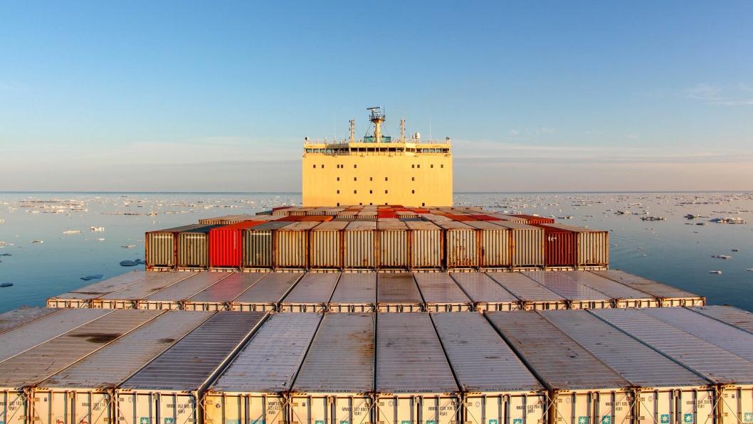 Venta Maersks ferd gjennom Nordøstpassasjen foregikk uten problemer, men man var avhengig av hjelp fra isbryter underveis.