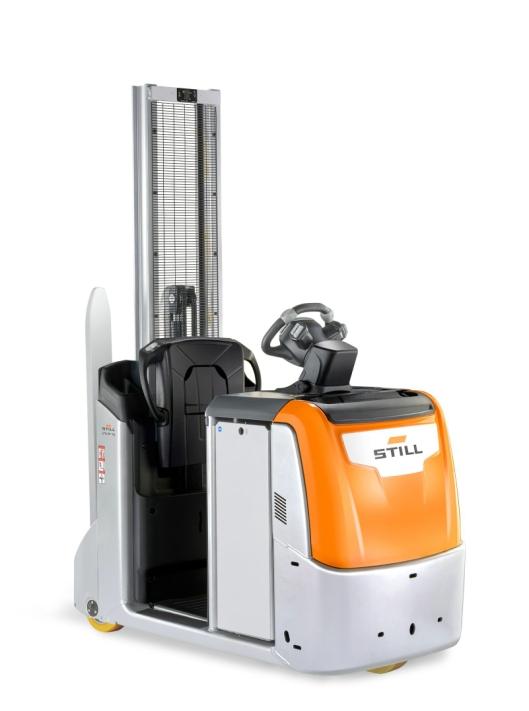 Still LTX-FF05/10 er en kompakt maskin med svingradius på under 1,5 meter.