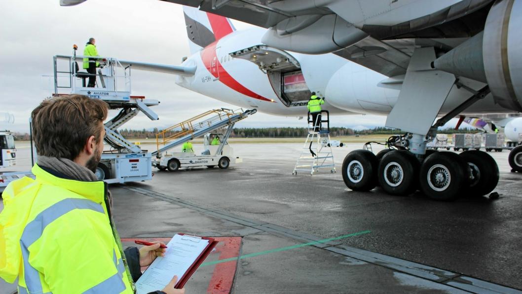 Emirates suksessflyvninger med norsk laks.
