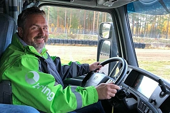 Bring Trucking på glattisen