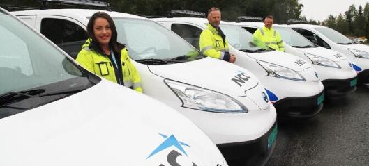 Elektriske varebiler til anleggsbransjen