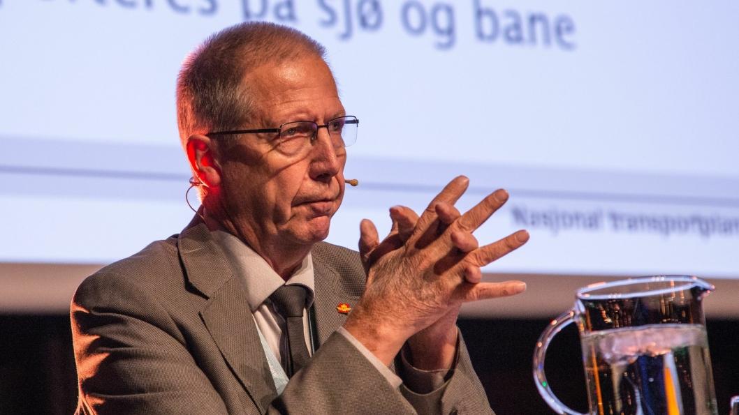 Vegdirektør Terje Moe Gustavsen peker på at teknologien vil vi det bærende elementet i neste NTP.