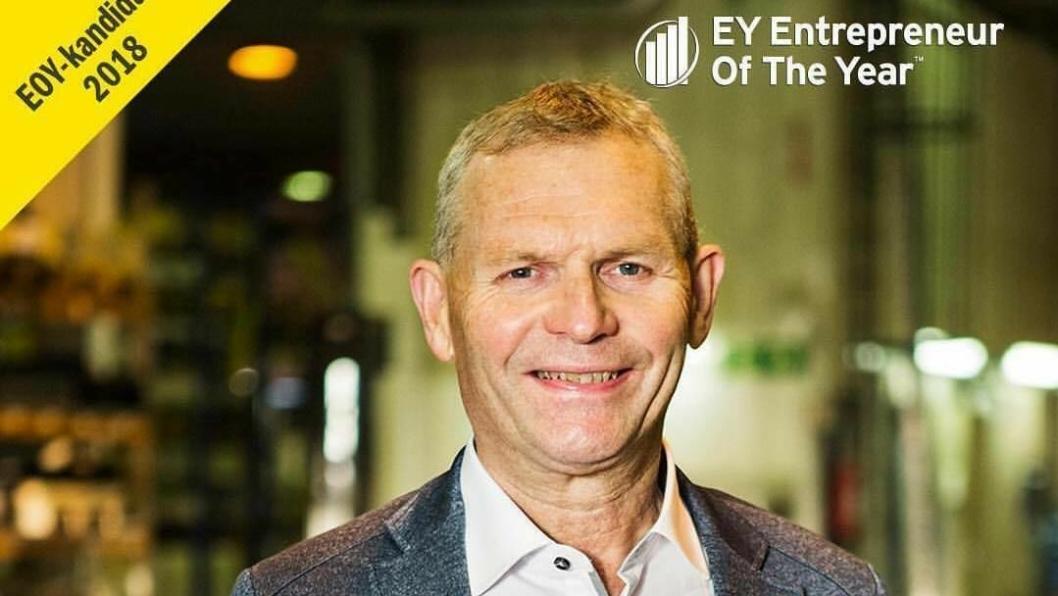 Jarl Gjønnes er finaleklar til EY Entrepreneur Of The Year i Oslo 3. desember.