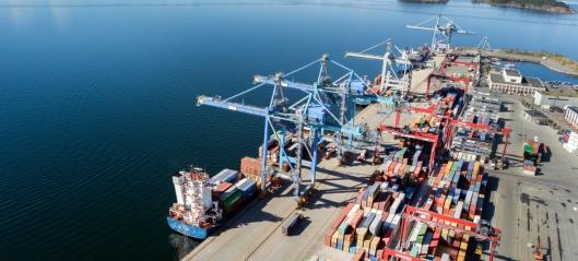 Containerrekord i Oslo