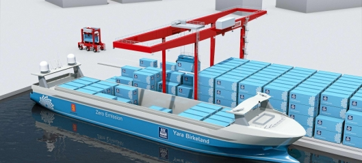 Kaiforlengelse gir mer effektiv havn