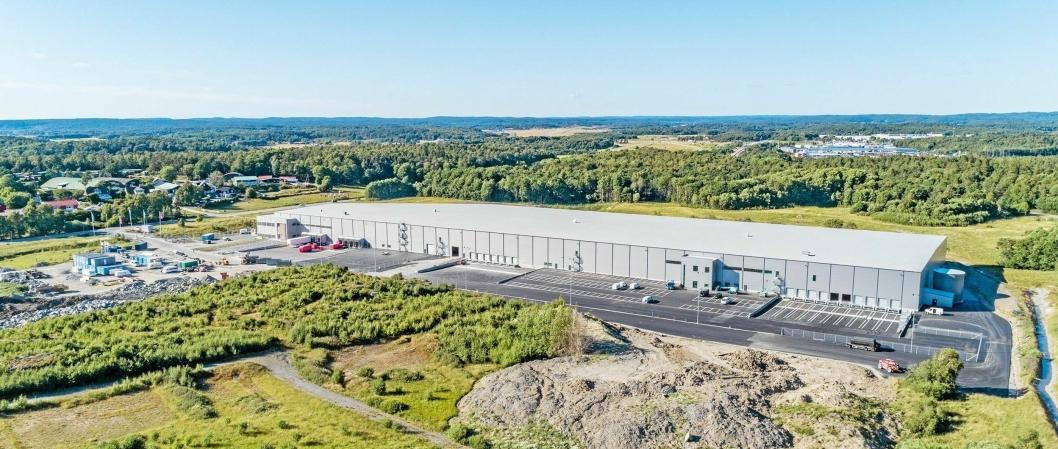 STØRST: Med de nye lageret på drøyt 20.000 kvadratmeter, har Jollyroom nå 65.000 kvadratmeter lagerareal.