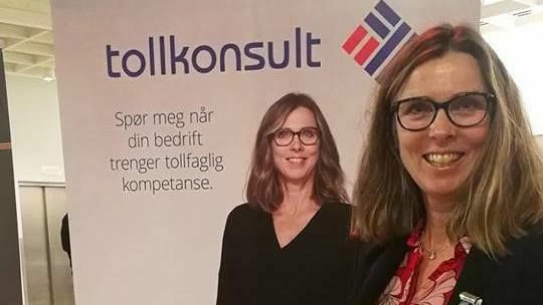 Tollkonsults «mor», Grete Astad var et naturlig innslag på Tolldagen 2018 denne uken.